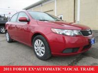 2011 KIA FORTE EX**2.0L 4 CYL ENGINE**6 SPD