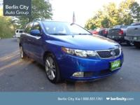 This 2011 hatchback Kia Forte is a SX with leather
