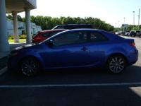 Local Trade. 2011 Kia Forte Koupe SX. Manual Shift.