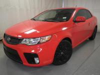 Exterior Color: red, Body: 2dr Car Coupe, Engine: 2.4L