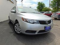This Kia Forte LX is a great pre-owned car. Clean and