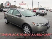 2011 Kia Forte EX EX Sedan Snow White Pearl I4 2.0L Gas