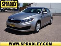2011 Kia Optima 4dr Car LX Our Location is: Spradley