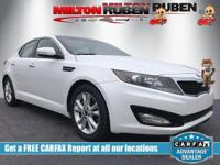 Options:  2011 Kia Optima Ex|Miles: 107788Color: Snow