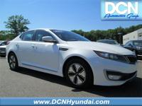 Snow White Pearl 2011 Kia Optima Hybrid EX FWD 6-Speed