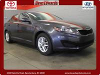 2011 Kia Optima Sedan LX Our Location is: Dave Edwards