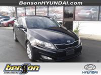 NON-SMOKER, PANORAMIC ROOF, LEATHER, Optima SX, 2.0L I4