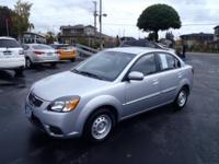This Silver 2011 Kia Rio Base might be just the 4 dr