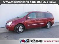 Exterior Color: claret red, Body: Mini-Van, Fuel: