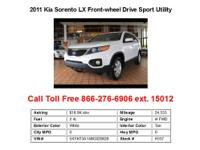 2011 Kia Sedona LX Front-wheel Drive Passenger Van