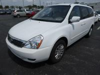 Check out this 2011 Kia Sedona LX. Its Automatic