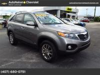 This exceptional example of a 2011 Kia Sorento EX is
