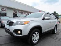 Almost new! 2011 Kia Sorento LX with All Wheel Drive