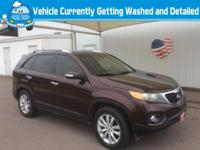 Experience driving perfection in the 2011 Kia Sorento!