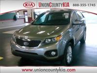 **In Transit, **CARFAX CERTIFIED, Alloy Wheels, Sorento