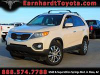We are happy to offer you this roomy 2011 Kia Sorento