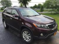 This is a 2011 Kia Sorento EX 4cylinder SUV.  This