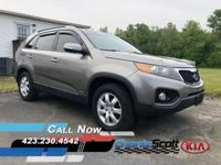 New Arrival! This 2011 Kia Sorento LX will sell fast