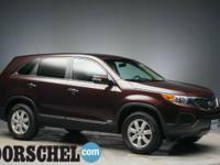 Dark Cherry 2011 Kia Sorento LX4WD!!Here at the