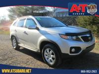 Clean CARFAX. 2011 Kia Sorento LX FWD 6-Speed Automatic