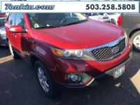 WOW!!! Check out this. 2011 Kia Sorento LX Spicy Red