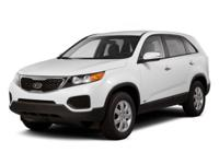JUST ARRIVED! 2011 Kia Sorento LX!**LOCAL, ONE OWNER