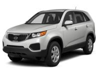 Options:  2011 Kia Sorento Lx|For Internet Pricing And