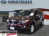 2011+Kia+Sorento+LX+In+Dark+Cherry+*+CLEAN+VEHICLE+HIST