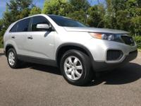 Clean CARFAX. FULLY SAFETY INSPECTED, Sorento LX, 4D
