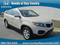 Honda of Bay County presents this 2011 KIA SORENTO 2WD