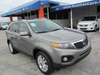 This 2011 Kia Sorento 4dr EX SUV . It is equipped with