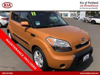Come see this 2011 Kia Soul +. Its Automatic