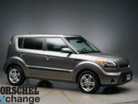 Gray 2011 Kia Soul PlusOdometer is 6389 miles below