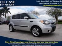 2011 Kia Soul Plus in Silver. This ride will leave you