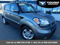2011 Kia Soul Plus 2.0L 4-Cylinder CVVT FWD Gray Priced