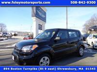 2011 KIA Soul Base Wagon... Shadow BLACK on BLACK