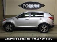 This Silver 2011 Sportage EX All Wheel Drive has
