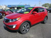 This Sportage just arrived at Main Street. The lady at