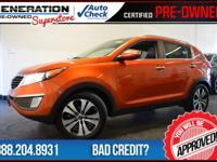 Sportage EX, Techno Orange, and 2011 Kia Sportage.