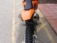 2011 KTM 250 SX-F When you have a bike in your range