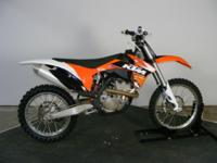 Gorgeous 2011 KTM 350 SXF. Fuel injected. We got this