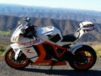 Very nice clean Sportbike. Very adjustable and easy to