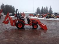 2011 KUBOTA B2620HSD  TRACTOR LOADER BACKHOE ONLY 60