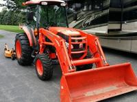 2011 kubota grand L 4740 cab tractor with tier 3