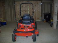 Im selling a Zero-Turn Kubota zd221 21HP diesel fueled