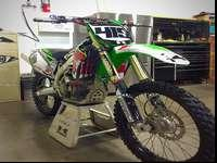 s is a 2011 KX 450f, it runs great! lots of extras! DWR