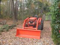 I have a 2011 L3240 Kubota tractor for sale. It was