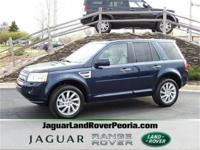 This 2011 Land Rover LR2 in Baltic Blue with