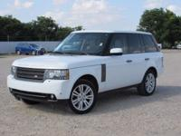 New Price! Leather. Clean CARFAX. White 2011 Land Rover