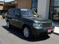 Right here is a stunning 2011 Range Rover HSE finished